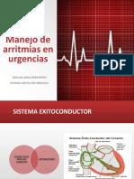 Manejo de Arritmias en Urgencias 160219031458