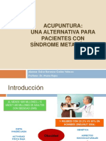 Acupuntura Alternativa Sindrome Metabolico