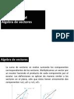 Presentación_algebra de Vectores