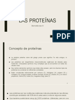Amninoácidos y Proteinas - Biomoleculas III