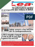 Periódico Lea Martes 10 de Julio Del 2018