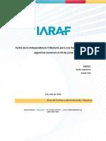 Informe IARAF