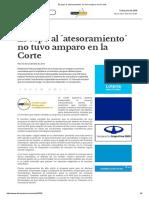 CSJN - Dymensztein, Jorge Manuel vs. en BCRA (2014)