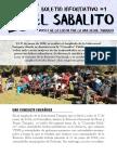 El Sabalito. Voces de la lucha por la vida desde Tariquía (Boletín Informativo #1)