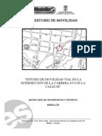 Estudio Movilidad Inter Secc Ion Cra43 Con Calle68-Manrique Oriental