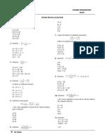 Desigualdades - Sistema de Ecuaciones
