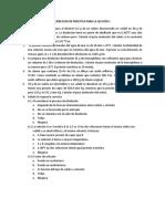 Ejercicios de Práctica Soluciones y propiedades coligativas