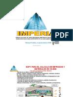 Manual Imperia (Metrados)