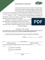 Autorización Taller Preventivo 2014. Registro Fotográfico