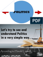 Politics and Political Science