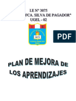 Plan de Mejora de Los Aprendizajes-2018