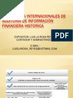Estandares Internacionales de Auditoria