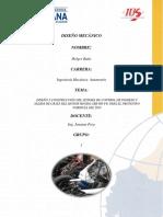 Diseño Mecánico Prueba