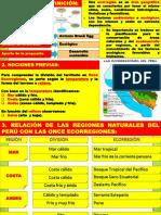 1-Las Once Ecorregiones - Geografía 2do Secundaria - 2018