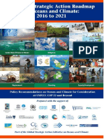 Strategic Action Roadmap on Oceans and Climate November 2016