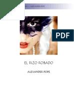 Alexander Pope - El Rizo Robado