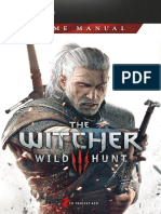 The Witcher 3 Wild Hunt Game Manual PC En