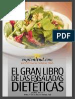 El Gran Libro de Las Ensaladas Dietéticas