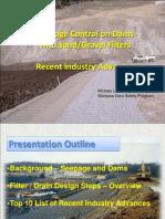 Seepage Control at Dams