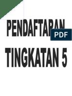Label Meja Meja Pendaftaran Gotong Royong Perdana 2018