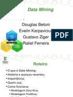 Apresentação Banco de Dados - Data Mining