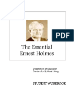 The Essential Ernest Holmes - Student Coursework