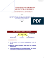Topic 1 - Review of Soil Mechanics Principles
