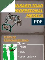 responsabilidad profesional