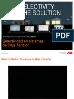 Selectividad en Instalaciones Eléctricas Industriales-E. Yampul -Jhon Oré -ABB