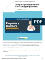 Pediatric Nursing_ Respiratory Disorders NCLEX Practice Quiz (15 Questions) • Nurseslabs