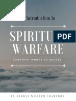 Introduction to Spiritual Warfare by Darryl William Crawford