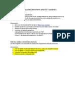 Actividades Sobre Criptografía Simétrica y Asimétrica