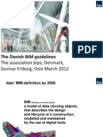 Danish BIM Guidelines Oslo March 2012