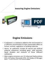 Measuring Engine Emissions