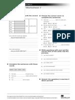 NI2 Grammar Worksheet 7