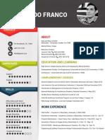 Resume with Portfolio 2018