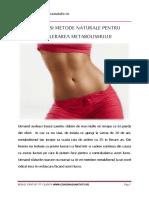 eBook 1 - Accelereazati Metabolismul in 10 Pasi Simpli