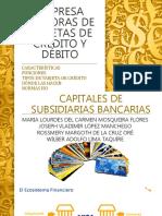 Empresa Emisoras de Tarjetas de Crédito y Débito - Copia