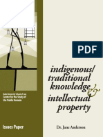 Ip Indigenous Traditionalknowledge