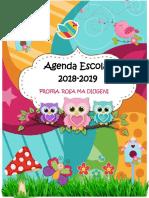 Agenda Curso 2018 2019 BUENO