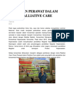 Peran Perawat Dalam Palliative Care