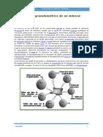 Análisis Granulométrico de Un Mineral