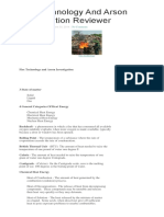 Bigwas Fire Technology and Arson Investigation Reviewer