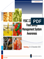 FSSC 22000 Awareness Training - Bagian 1