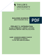 building science ii a4 report