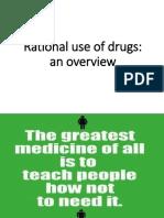 Rational Prescribing the Medicines to Patients