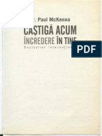 Paul Mckenna Castiga Ti Increderea in Tine
