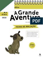 Fichas de Avaliacao a Grande Aventura Matematica 4 Ano PDF