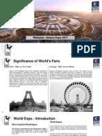 Astana Expo 2017 Participation Deck PDF