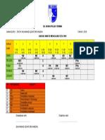 Jadual Persendirian 2018